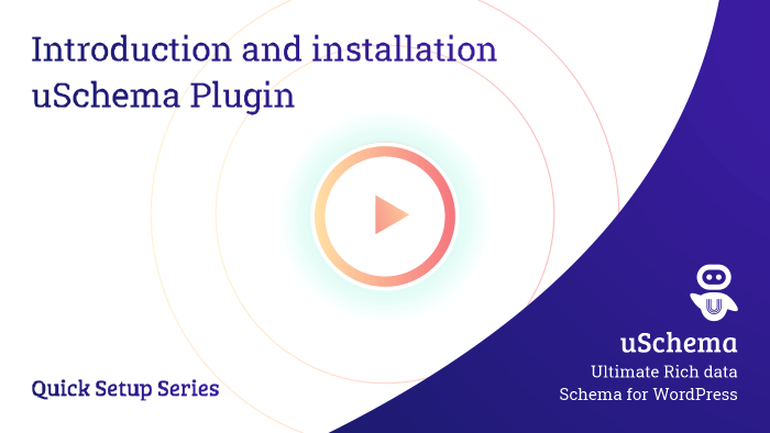 Introduction and installation - uSchema Plugin 1